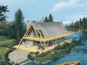 wrap around deck designs yukon rustic a frame home plan 008d 0162 house plans and