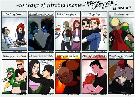 Young Justice Memes - young justice images yj flirting meme hd wallpaper and background photos 29665936