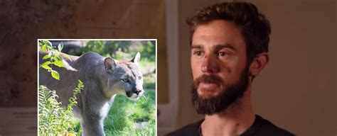 trail runner fought  attacking mountain lion