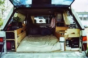 Living in a Truck Stealth Camper