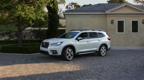 Subaru Ascent 2019 Vs 2020 by 2019 Subaru Ascent 3 Row Suv Priced Up With Standard Awd