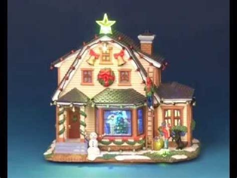 lemax christmas village decorating the house youtube