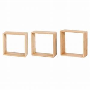 Etagere Murale Bambou : 3 cubes bambou form lima 30 cm child room pinterest etagere cube cubes et etagere cube ~ Teatrodelosmanantiales.com Idées de Décoration