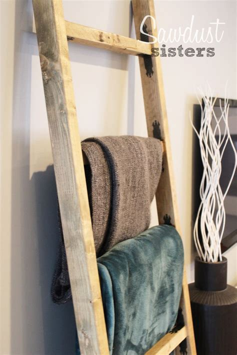 diy blanket ladder diy blanket ladder diy wood projects