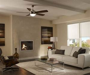 Modern living room ceiling fan in precious ornate ceiling for Ceiling fan for living room