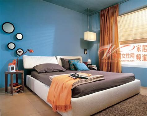 Modern Blue Bedroom Wall Color Decorations Ideas
