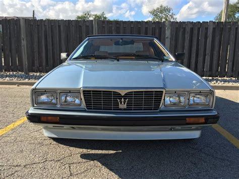 1987 Maserati Biturbo For Sale by 1987 Maserati Biturbo Spyder Zagato Convertible Stock