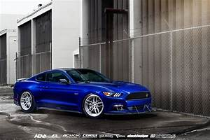 Ford Mustang GT 2016 cars coupe blue wallpaper | 2399x1602 | 869005 | WallpaperUP