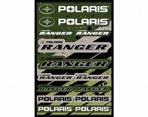 48 Quot Sticker Sheet Polaris Ranger