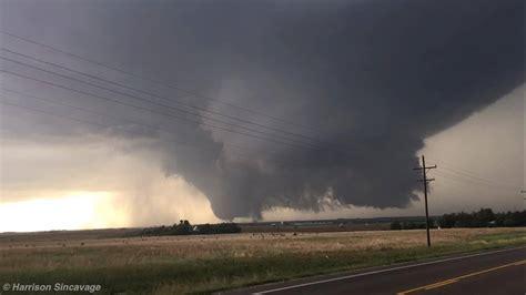 Family of Tornadoes near Dodge City, Kansas, on May 24th, 2016