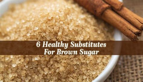 substitution for brown sugar substitute for brown sugar natural home remedies guide