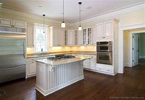 pictures of kitchens traditional off white antique With kitchen designs with white cabinets