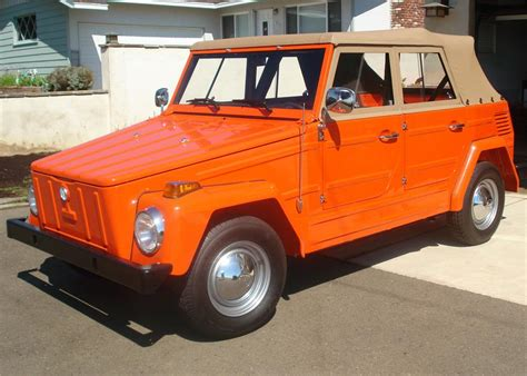 The Volkswagen Thing by 1973 Volkswagen Thing Convertible 60851