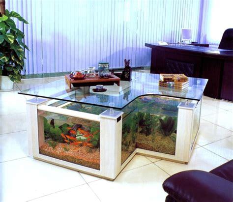 cuisine moderne pas cher la décoration avec un meuble aquarium
