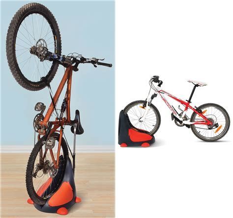standing bike rack the space saving bike rack that also saves your back the