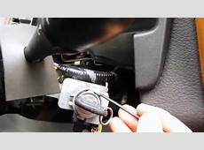 Saturn Vue ignition cylinder removal, rekey and re