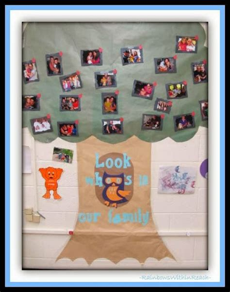 family tree bulletin board ideas for preschool 17 best images about family collage ideas on 615