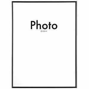 Cadre Photo 60x80 : cadre de photo easy frame noir 60x80 cm ~ Teatrodelosmanantiales.com Idées de Décoration