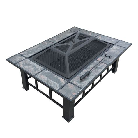 pit table grill outdoor pit bbq table grill fireplace
