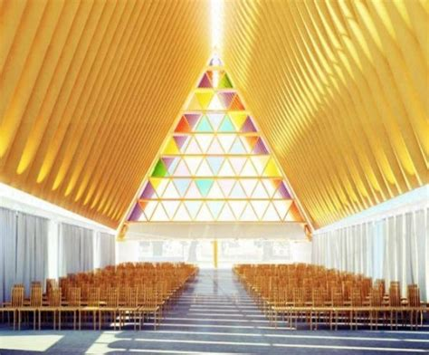 shigeru ban s christchurch cardboard cathedral gets the
