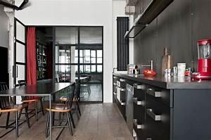 Deco Industrielle Atelier : un appartement de caract re au style industriel marie claire ~ Teatrodelosmanantiales.com Idées de Décoration