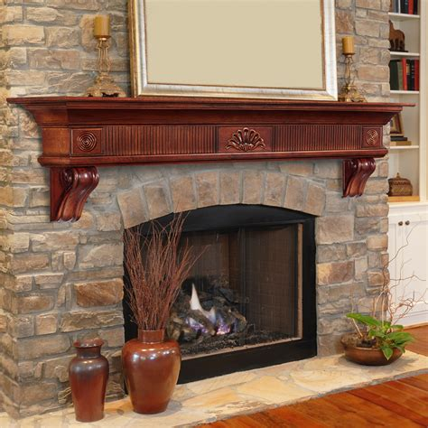 amazoncom pearl mantels   windsor fireplace mantel