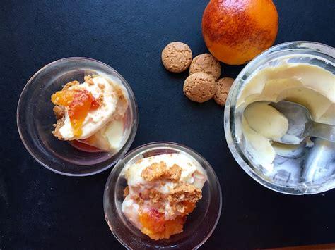 lime posset orange sanguine et 171 amaretti 187 un dessert minute dans mon panier