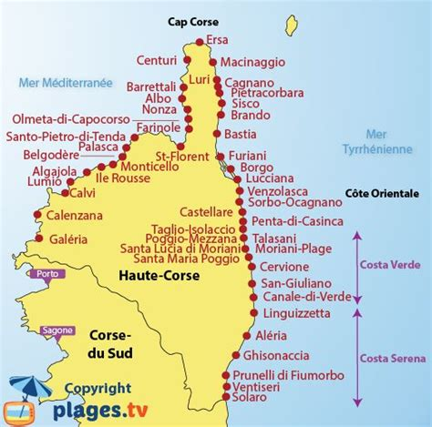 Carte Des Plages Nord by Info Carte Italie Nord Plage
