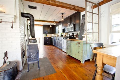 Shy Rabbit Farm   Farmhouse   Kitchen   Boston   by