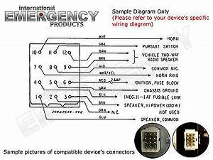 Federal Signal Strobe Wiring Diagram : 12 pin plug harness cable for federal signal smart siren ~ A.2002-acura-tl-radio.info Haus und Dekorationen
