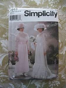 Simplicity Pattern 5943 Edwardian Wedding Dress Tea Gown ...