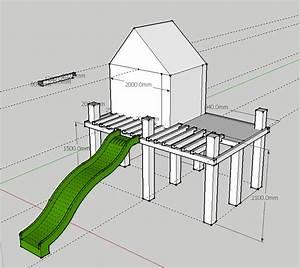 plan cabane bois plan d une cabane en bois les 25 With nice plans de maison gratuit 7 balancoire toboggan