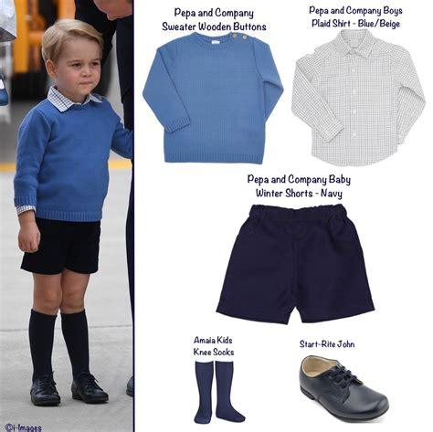 Janie And Jack Dressed Like Prince George Where To Buy The Same Outfits
