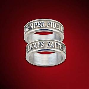 42 best images about semper fi on pinterest usmc With marine corps wedding rings
