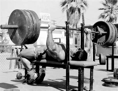 Powerlifting Franco Bench Columbu Press Training Bodybuilding