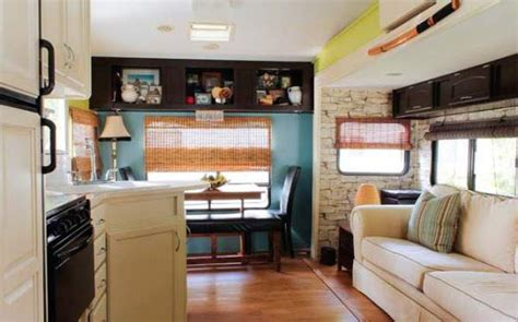 Decorating Ideas Rv by Cer Decorating Ideas S 5th Wheel Makeover
