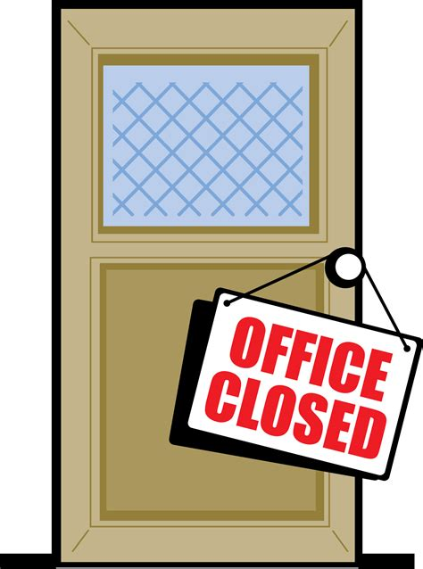 office will be closed sign template image gallery office closed sign template