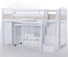 school house junior store and study low loft bed with