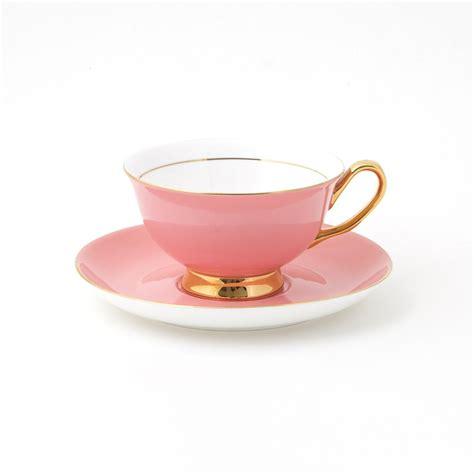 pale pink teacup  saucer