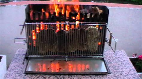 barbecue ecolo a cuisson verticale