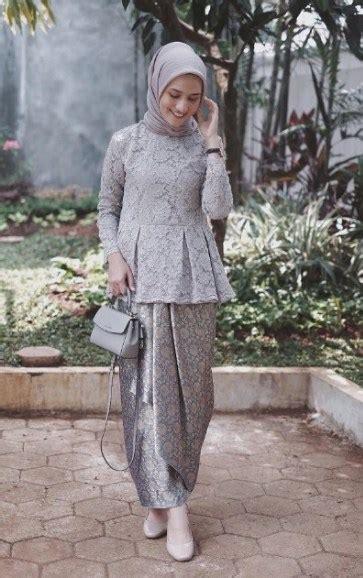 gambar model kebaya hijab terupdate  fashion