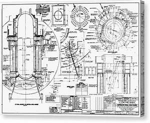 Nuclear Power Plant Components  Diagram Photograph By