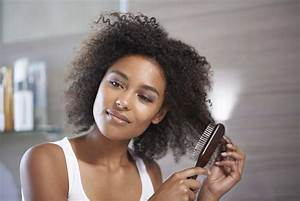 How to use a natural bristle hair brush on afro hair