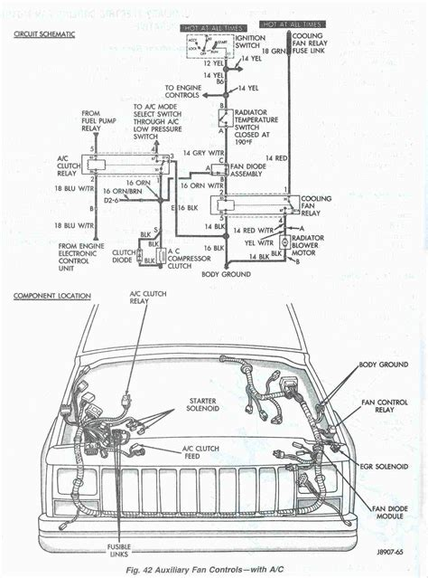 1999 Jeep Wiring Diagram Pdf by At The Asd Relay If Vole Is Not B16 Check Fuse 20 30 A