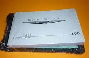 2020 Chrysler 300 Owners Manual Guide  Case 20 Touring S L