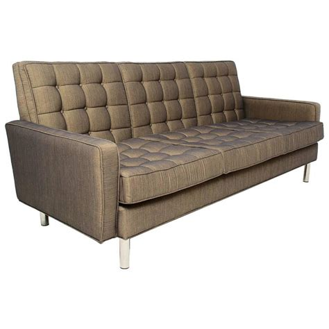 mid century modern sofa after florence knoll for sale at