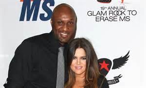 Khloe Kardashian DID NOT kick husband Lamar Odom out ...