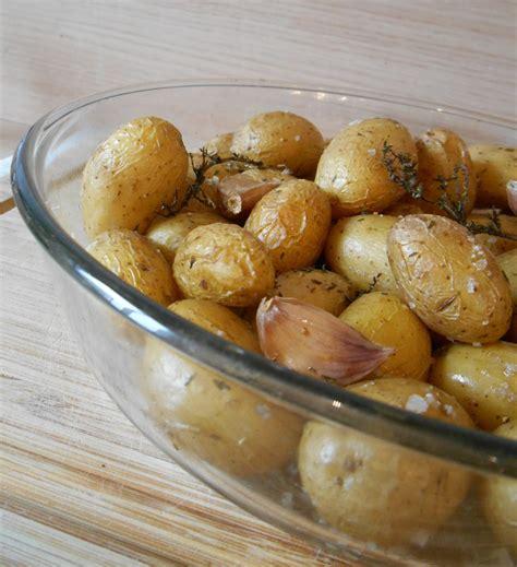 cuisiner pomme de terre grenaille potatoes au four