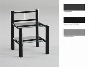 Nachttisch Metall Schwarz : nachttisch noah 45x62x37 cm metall glas farbe nach wahl nachtkonsole wohnbereiche schlafzimmer ~ Whattoseeinmadrid.com Haus und Dekorationen