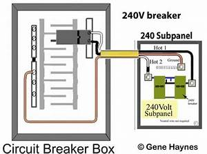 Wire 240v Breaker